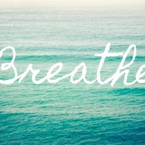 Controlled breathing helps to reduce stress